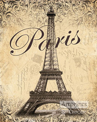 Paris by Todd Williams - Art Print
