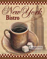 New York Bistro by Todd Williams - Art Print