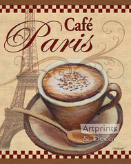 Paris Cafe by Todd Williams - Art Print