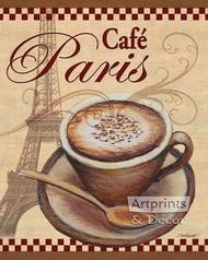 Paris Cafe by Todd Williams - Art Print