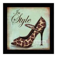 *Exotic Shoe II - Framed Art Print