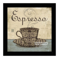 *Espresso - Framed Art Print