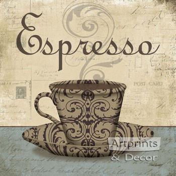 Espresso by Todd Williams - Art Print