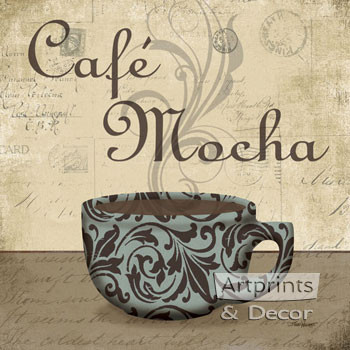 Cafe Mocha by Todd Williams - Framed Art Print