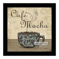 *Cafe Mocha - Framed Art Print