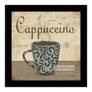*Cappuccino - Framed Art Print