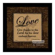 *Love - Framed Art Print
