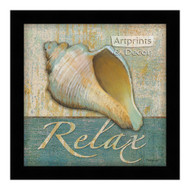 *Relax Shell - Framed Art Print