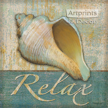 Relax Shell by Todd Williams - Art Print