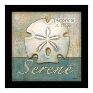 *Serene Shell - Framed Art Print