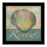 *Renew Shell - Framed Art Print