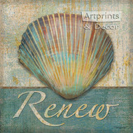 Renew Shell by Todd Williams - Art Print