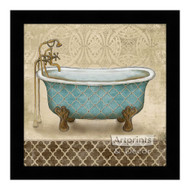 *Lattice Bath II - Framed Art Print