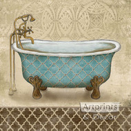 Lattice Bath II by Todd Williams - Art Print