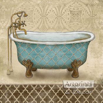 Lattice Bath II by Todd Williams - Art Print
