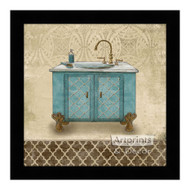 *Lattice Bath III - Framed Art Print