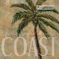 Coastal Palm by Todd Williams - Art Print
