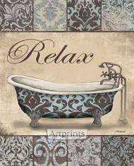 Relax Bath by Todd Williams - Art Print