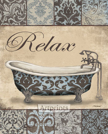 Relax Bath by Todd Williams - Art Print