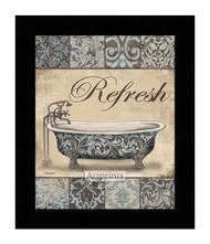 *Refresh Bath - Framed Art Print