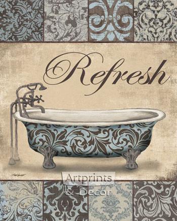 Refresh Bath by Todd Williams - Art Print