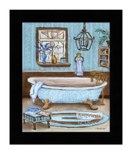 *Tranquil Tub I - Framed Art Print