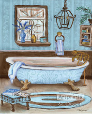Tranquil Tub I by Todd Williams - Art Print