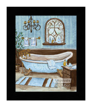 *Tranquil Tub II - Framed Art Print