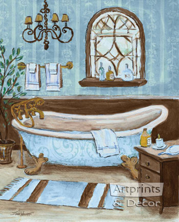 Tranquil Tub II by Todd Williams - Art Print