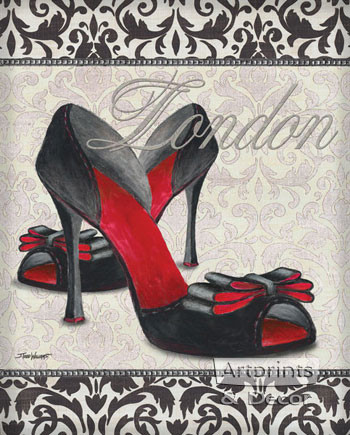 Classy Shoes I by Todd Williams - Art Print