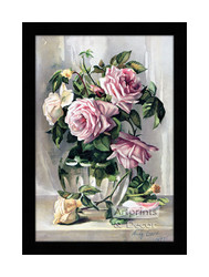 La France Roses - Framed Art Print