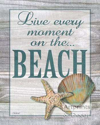 Beach by Todd Williams - Framed Art Print