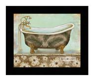 *Tropical Bath I - Framed Art Print