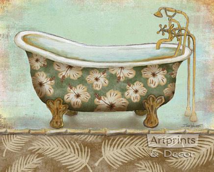 Tropical Bath II by Todd Williams - Art Print