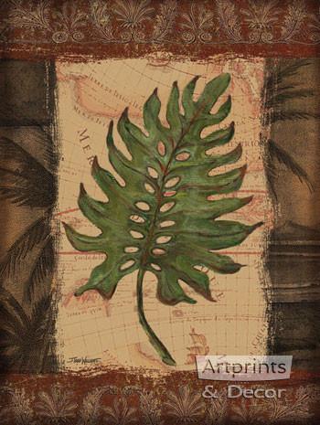 Tropical Leaf II by Todd Williams - Art Print