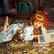 Kitten Tales by Sandra Kuck - Art Print