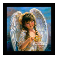Little Angel - Framed Art Print