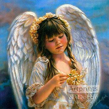 Little Angel by Sandra Kuck - Art Print