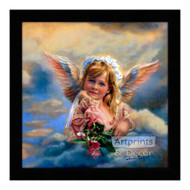 Little Angel Guardian - Framed Art Print