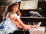 Rehearsal by Sandra Kuck - Stretched Canvas Art Print