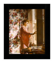 Morning At The Window - Framed Art Print