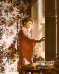 Morning At The Window by Sandra Kuck - Art Print