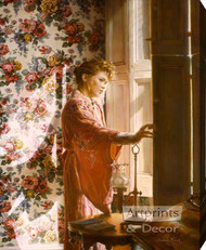 Morning At The Window by Sandra Kuck - Stretched Canvas Art Print