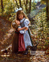 My Big Sister by Sandra Kuck - Art Print