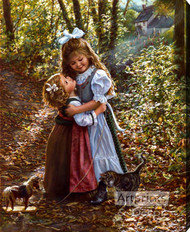 My Big Sister by Sandra Kuck - Stretched Canvas Art Print