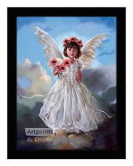 August Poppy - Framed Art Print