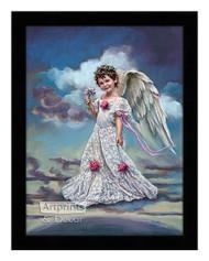 January Carnation - Framed Art Print
