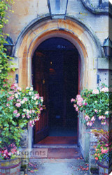 Arched Entrance by Sandra Kuck - Stretched Canvas Art Print