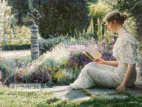 Eleane Garden by Sandra Kuck - Framed Art Print