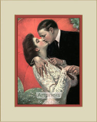 Take My Breath Away by Clarence Underwood – Framed Art Print